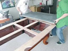 Billiard table moves in Cleveland Ohio