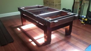 Correctly performing Billiard table installations, Cleveland Ohio
